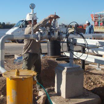 Ingeniería y ejecución en sistemas de captación de agua para uso industrial, agrícola, consumo.