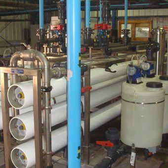 Ingeniería y ejecución en sistema de tratamiento de agua.